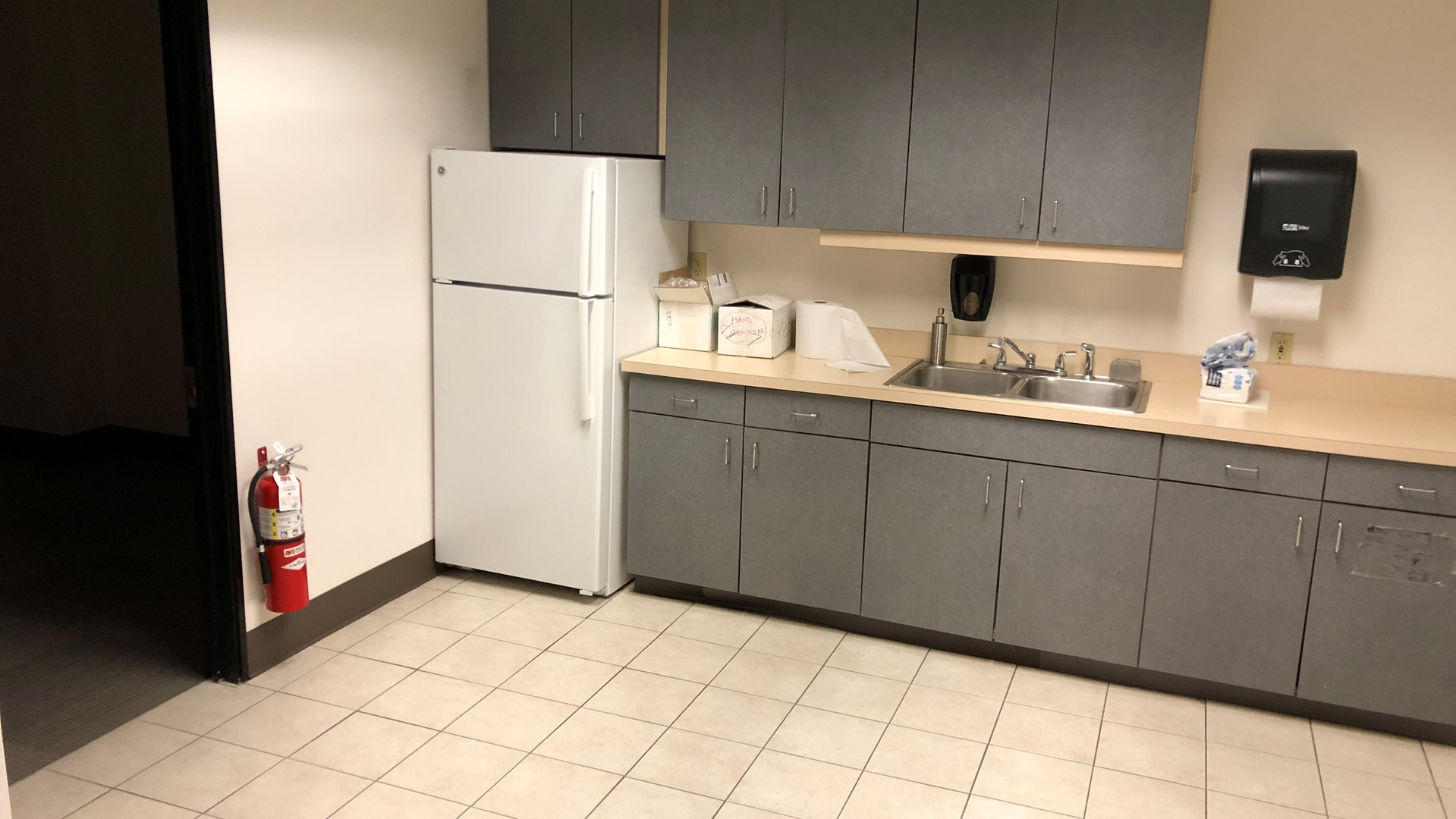 Vacant Space Kitchen