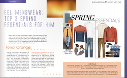 Menswear feature story excerpt