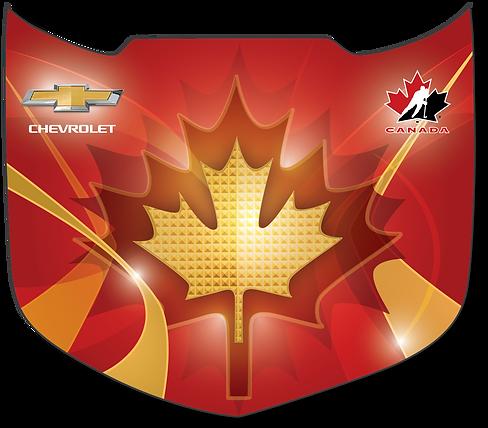 Team Canada Chevrolet Camaro Hood