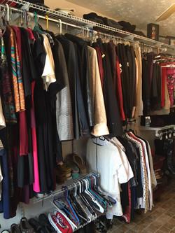 Closet Confidential: New Closet!
