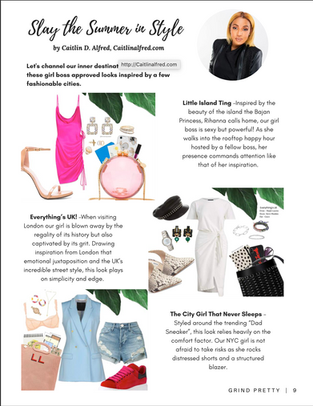 Grind Pretty Magazine Feature - 2020