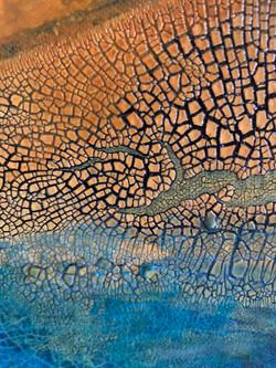 detail Sunset Amongst The Pebbles