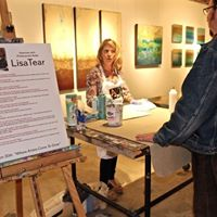 Artist Lisa Tear