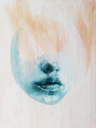 Work in progress. Oil painting.
