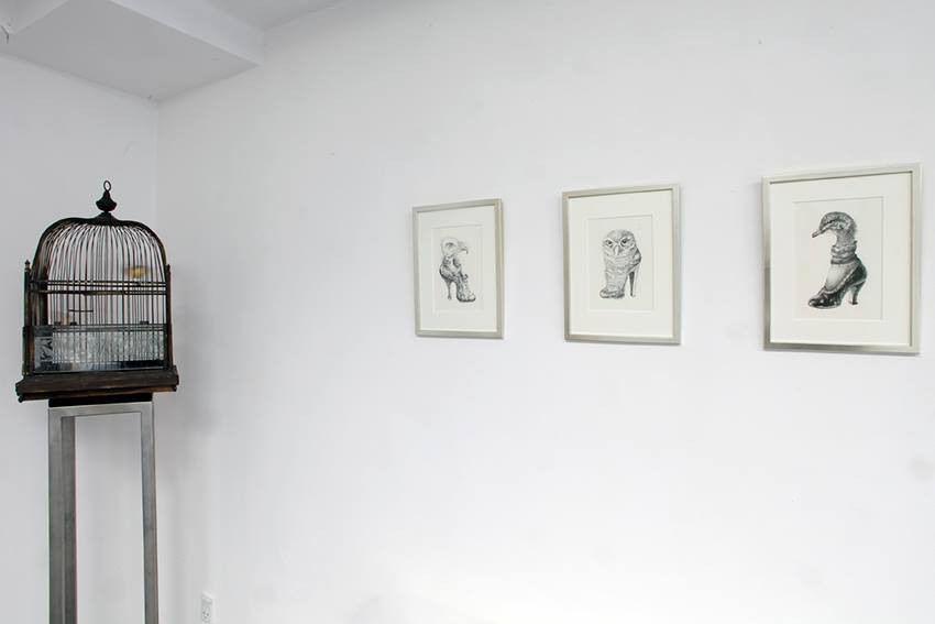 Solo Exhibition at Gallerie Lorien