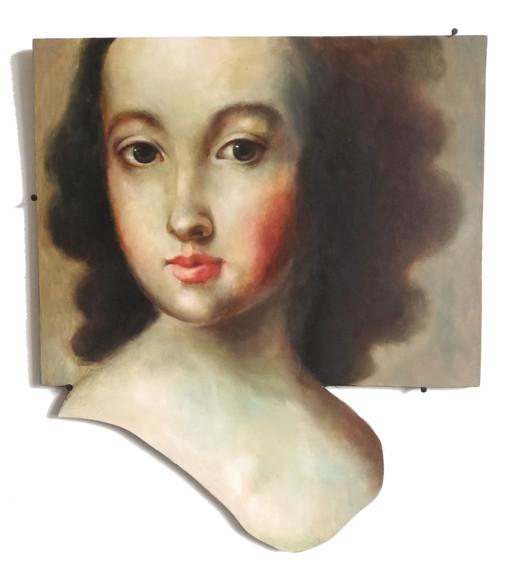 Shape of a portrait.
