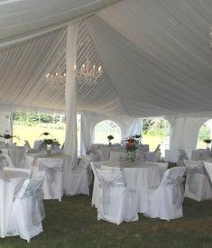 Elegant wedding at the Chandler River Inn