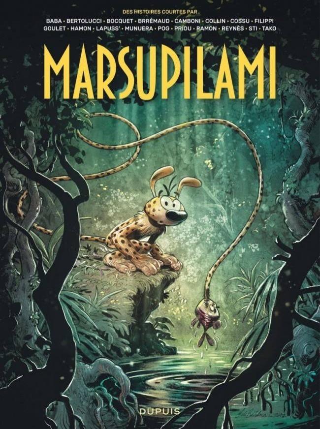 Les aventures du Marsupilami vu par...