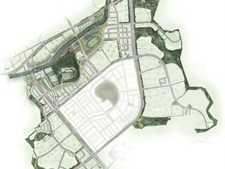 Hwaseong Namyang newtown development landscape design