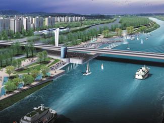 Seoul-Incheon Arabaetgil water landscape design