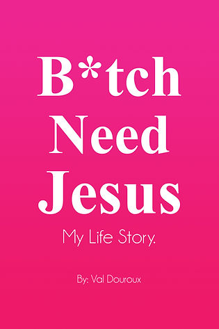 Bitch Need Jesus Book Cover Amazon Kindl