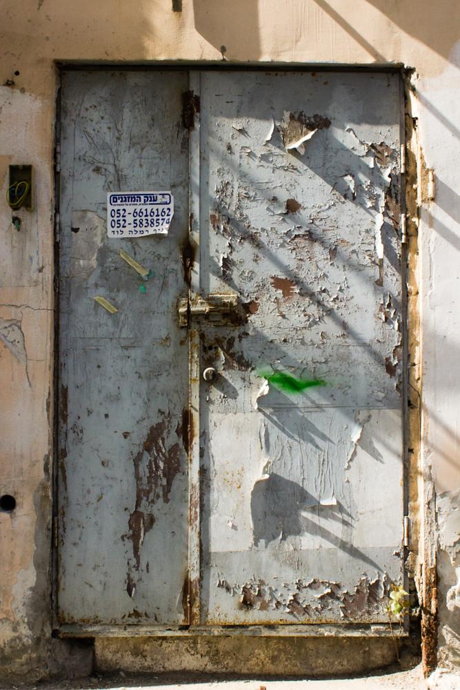 Rust Steel Door