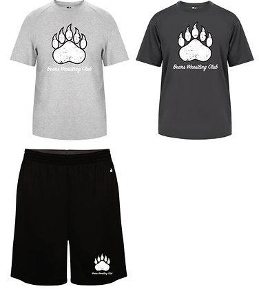 Bears Wrestling Club Shirt/Short Combo