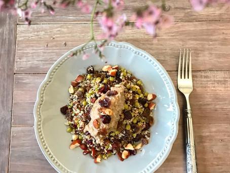 Quinoa, Châtaigne & fruits secs