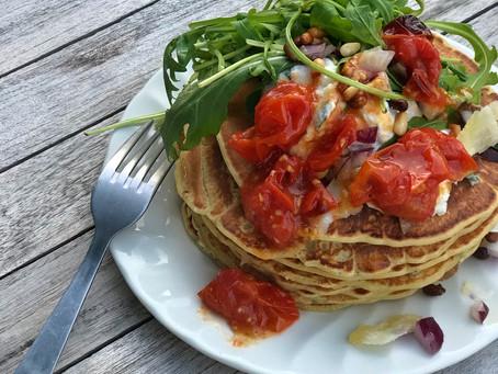 Pancakes salés à l'italienne