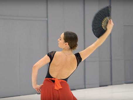 Vidéo // Don Quichotte, variation de Kitri acte I
