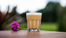 Latte and Flower