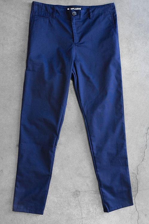 Pantalone Chinos Blu Navy