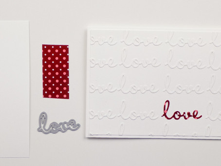 Well Written Valentine's Day Card | Stampin Up
