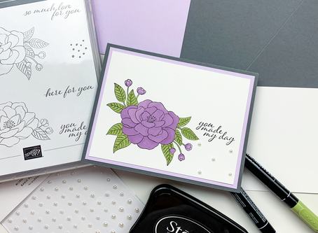 So Much Love Greeting Card | Card Making Tutorial | Stampin Up