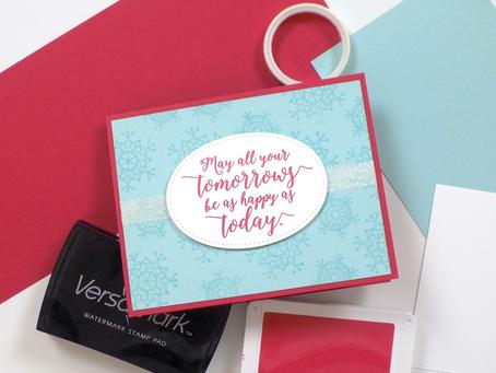 Colorful Seasons Greeting Card + Giveaway! | Stampin Up
