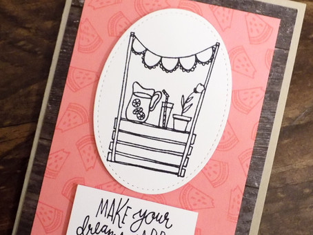 Sunny Days Greeting Card - SBTD June Hope | Stampin Up