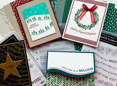 NEW! Quite Curvy Variety Bundle | New Product Sneak Peek! | Stampin Up