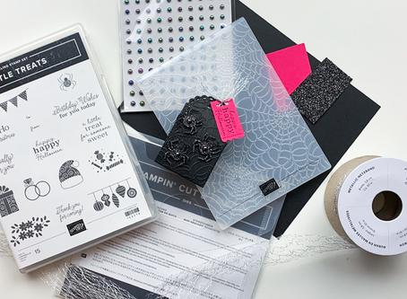 Little Treats Halloween Treat Box | Paper Crafting Tutorial | Stampin Up