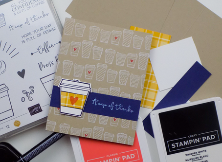 Press On Thank You Card Greeting Card | Stampin Up