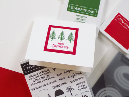 From Our House To Yours Greeting Card | Stampin Up
