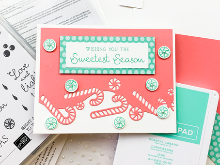 Sweetest Time Greeting Card | Card Making Tutorial | 25 Days of Christmas | Stampin Up