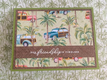 Timeless Tropical Friendship Card | Stampin Up