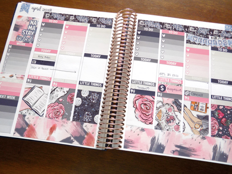 Planner Spread - April 16th 2018