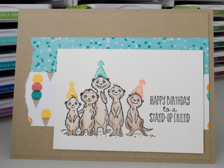 The Gang's all Meer Birthday Card | Stampin Up