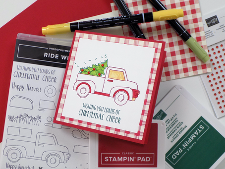 Ride With Me Greeting Card | Stampin Up