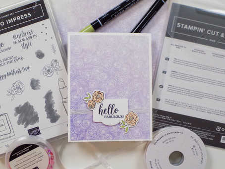 Hello Fabulous Greeting Card | Stampin Up