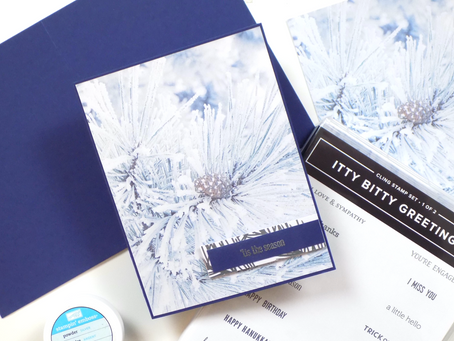 Feels Like Frost Greeting Card | Stampin Up
