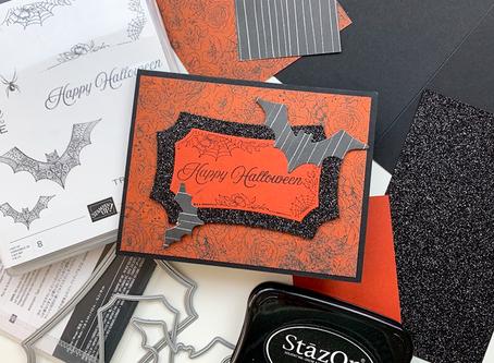 Hallows Night Magic Greeting Card | Card Making Tutorial | Stampin Up