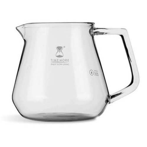 Brewing Timemore Glass Coffee Server 360ml