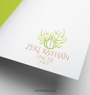 Zeki Kayhan İncir Logo Çalışması