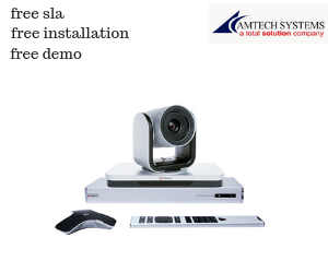 Polycom Realpresence Group 500 video conference equipment in Pakistan