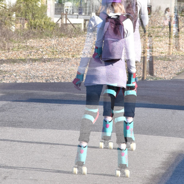 By Ann Young - Roller skate