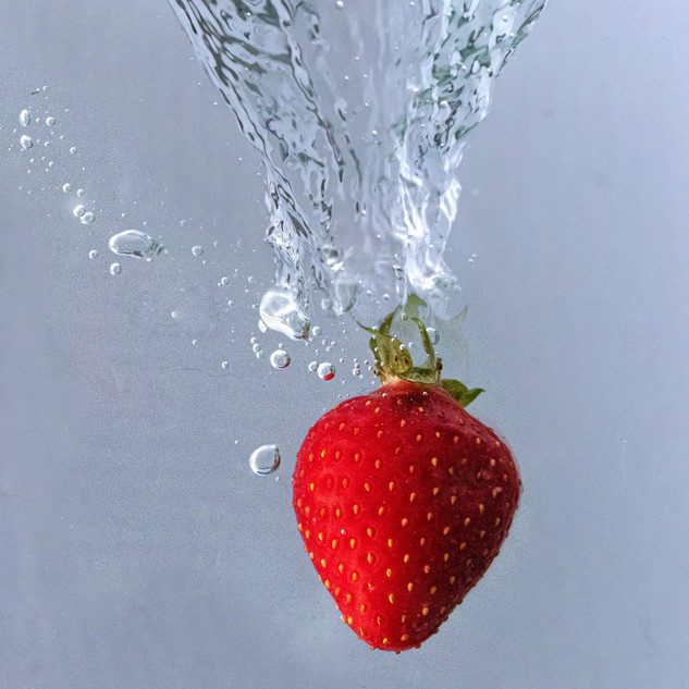 By Sue Daly - Diving strawberry