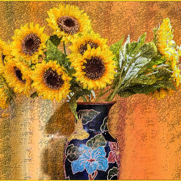 By Jan Arnold - Sunflowers