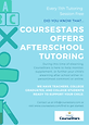 CourseStars Afterschool Tutoring Flyer (