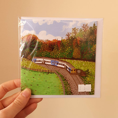 Northern Line, Eskvalley - Card