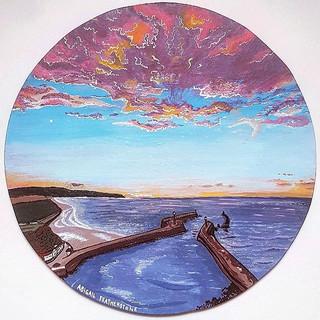 Lavendar skies - Whitby