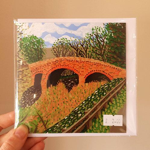 Grosmont Bridge - Card