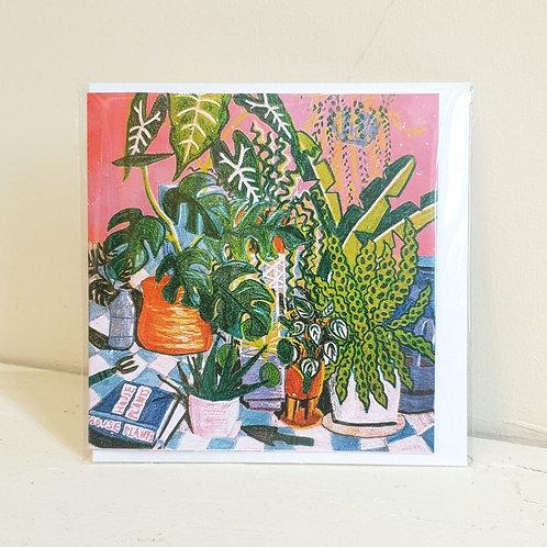 Houseplants - Card