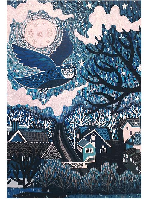 Grosmont Night Sky - Print